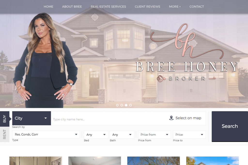 Bree Honey Website