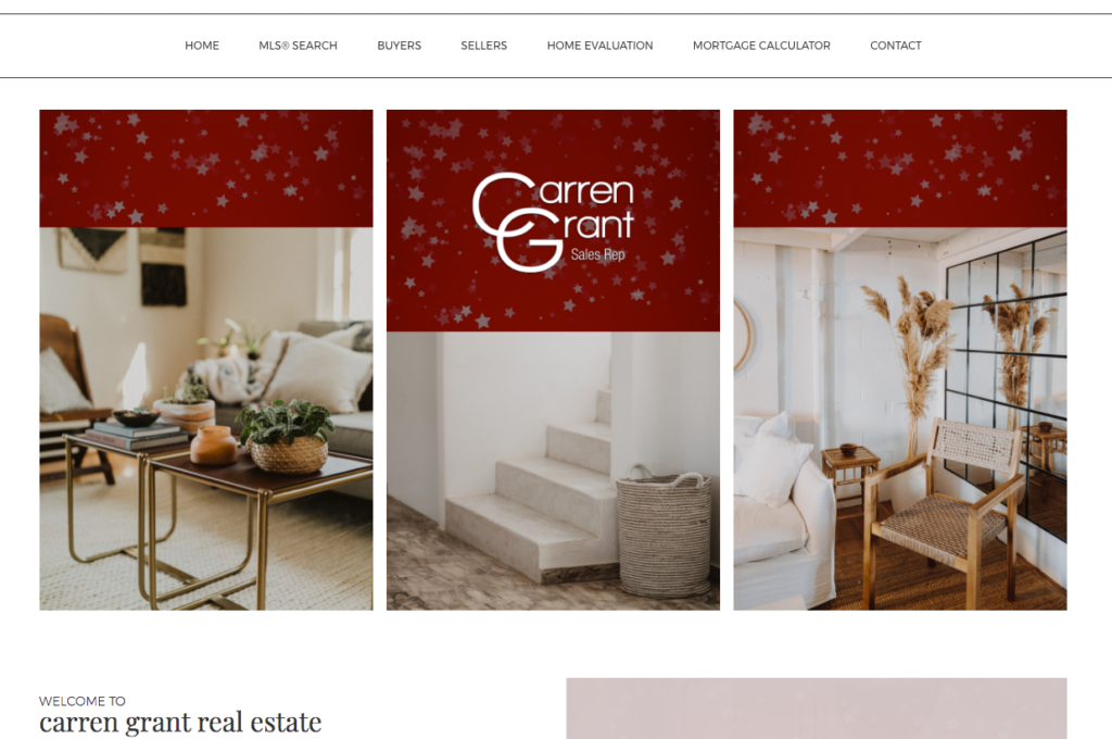 Carren Grant Website